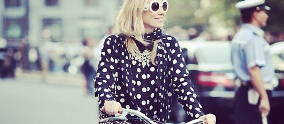 Bike Chic with Sunnies