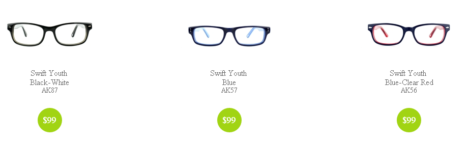 Ring, Ring! School Bells are here, and so are Boy's Swift Youth Glasses!
